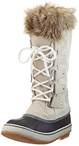 Sorel Women's Snow Winter Boots, Beige Dark Stone Sea Salt, 39.5