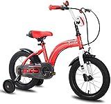 ZSY Bicicletas Bicicletas para niños, Bicicleta para niños Scooter 12/14/16 Pulgadas 3-8 años Niños y niñas Ciclismo al Aire Libre sin Montar en Bicicleta Deportiva (Color: Rosa, tamaño: 12in)