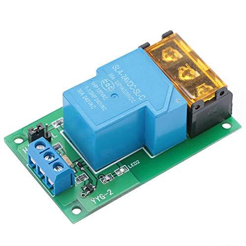 Trigger-Relaismodul Hochleistungs-Einweg-Trigger-Optokoppler-Trennrelais 30A YYG-2 für hohe/niedrige Pegel(24VDC)