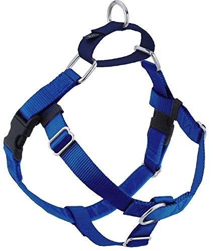 Freedom No Pull Dog Harness, Harness ONLY (Blue, Medium (1