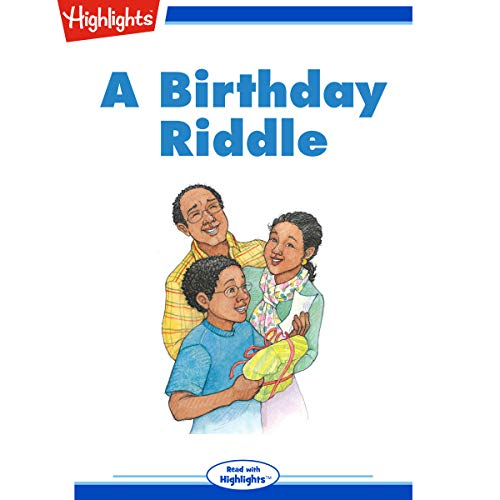 A Birthday Riddle cover art