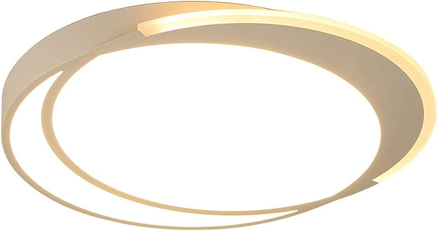 TTBDDDYH Modern Simplicity White Lowest price challenge Fort Worth Mall LED Light Round Circle Ceiling