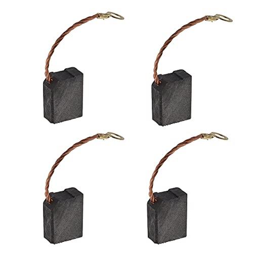 2 pares de cepillos de carbón para motor 8 x 14 x 18 mm, compatibles con METABO W16167 W16178 W16230 W19178 W19180 Parkside PWS230SE accesorio de repuesto para amoladora angular