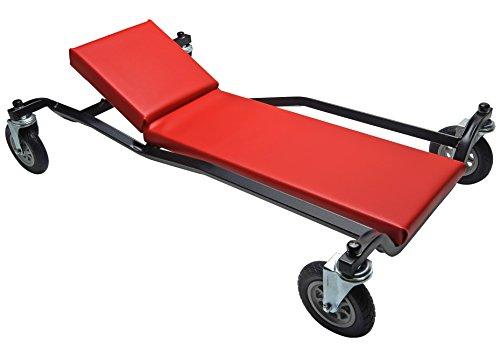 "40"" Adjustable Headrest Big Wheel Creeper"