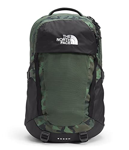 The North Face Recon Backpack Thyme Brushwood Camo Print/TNF Black