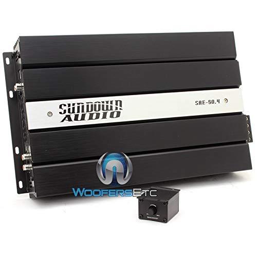 Sundown Audio SAE-50.4 4 Ch 300 Watt SAE Series Amplifier (300W)