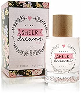 Sheer Dreams Perfume Spray For Women by SFL Styles for Less - Fruity Floral Fragrance - Starfruit Apple Blossom Grapefruit Water Lily Magnolia Rose Sandalwood Amber Blonde Woods - 1.7 oz 50 ml
