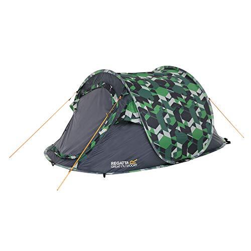 Regatta Unisex's Malawi' Tent, Green Geometric, One Size