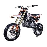 X-PRO 140cc Adults Dirt Bike Pit Bike Youth Dirt Pitbike 140 Dirt Pit Bike,White