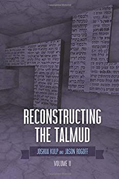 Paperback Reconstructing the Talmud: Volume Two Book