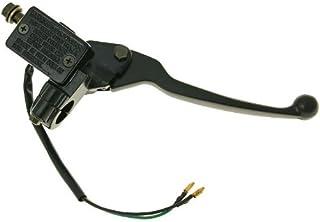 Xfight-Parts YY50QT012004 Bremsarmatur links Trommelbremse mit Bremshebel und Spiegelhalter komplett 4Takt 50ccm JSD50QT-13 JSD139QMB YY50QT012004
