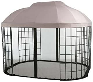Best oval trellis gazebo replacement canopy Reviews