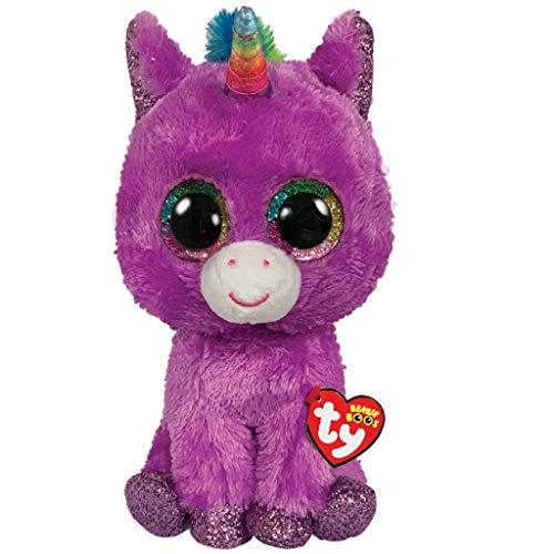 Ty TY36328 Beanie Boo\'s - Peluche de Unicornio