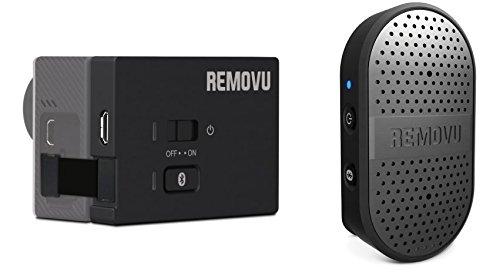 REMOVU RM-M1+A1 Wireless Microphone and Receiver for GoPro HERO4, HERO3+ & HERO3