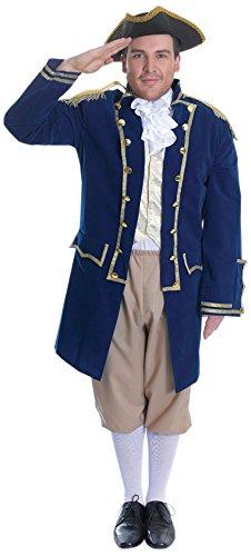 Bristol Novelty AC714 Großadmiral Kostüm, Bunt