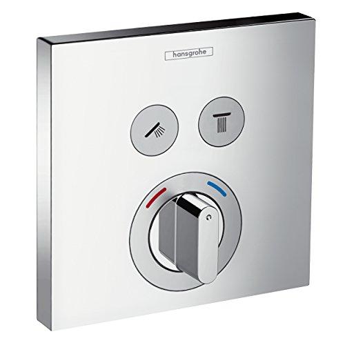 hansgrohe ShowerSelect Unterputz Mischer, für 2 Funktionen, Chrom
