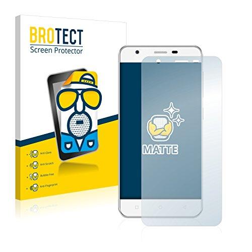 BROTECT 2X Entspiegelungs-Schutzfolie kompatibel mit Allview V2 Viper Bildschirmschutz-Folie Matt, Anti-Reflex, Anti-Fingerprint