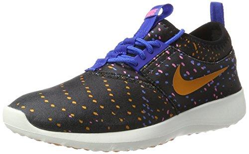 Nike Damen WMNS Juvenate Print Traillaufschuhe, schwarz/blau/rosa, 41 EU