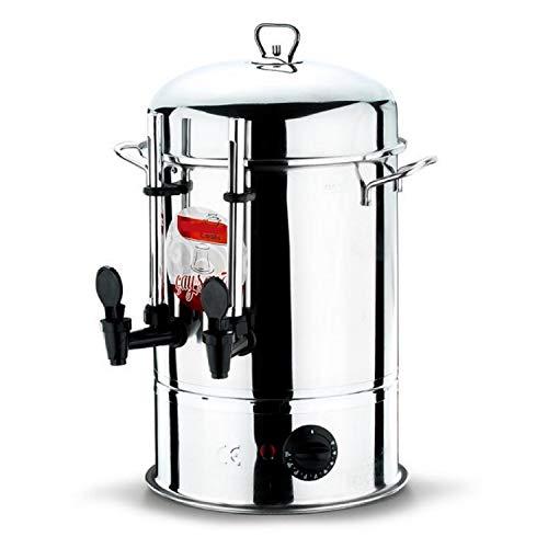 Teemaschine Samowar 6 Liter Teekanne Teeautomat Teebereiter Teespender Semaver Tee Cay Automat Kanne Kessel Spender ...Teemaschine Samowar Elektrisch Teekanne Teeautomat Teespender Teekocher