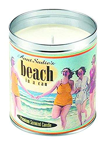 Aunt Sadies 1032 Original Beach Candle, Tropical, 4 by 3.25-inches