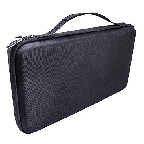 RICH Keyboard Storage EVA Hard Protective Case Carrying Pouch Cover Bag,Hard Travel Storage Case with Handle for AKAI MPK Mini Play MK2 -  15834903234571