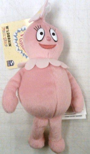 SpinMaster Yo Gabba Gabba 5 Inch Plush Figure Foofa