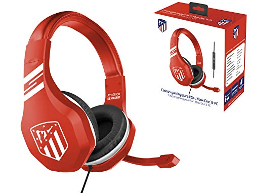 ATM Atletico de Madrid Auriculares gaming - accesorio PS4, PS4 Pro, Xbox One, PC