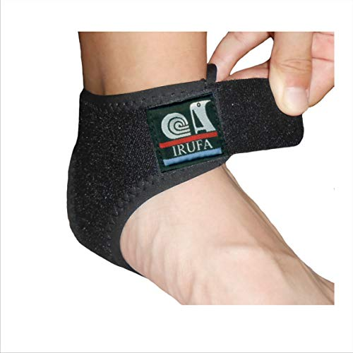 IRUFA, AN-OS-11,3D Breathable Elastic Knit Patented Fabric Adjustable Athletics Achillies Tendon Ankle Wrap, Plantar Fasciitis, Pain Relief for Sprains, Strains, Arthritis and Torn Tendons XL