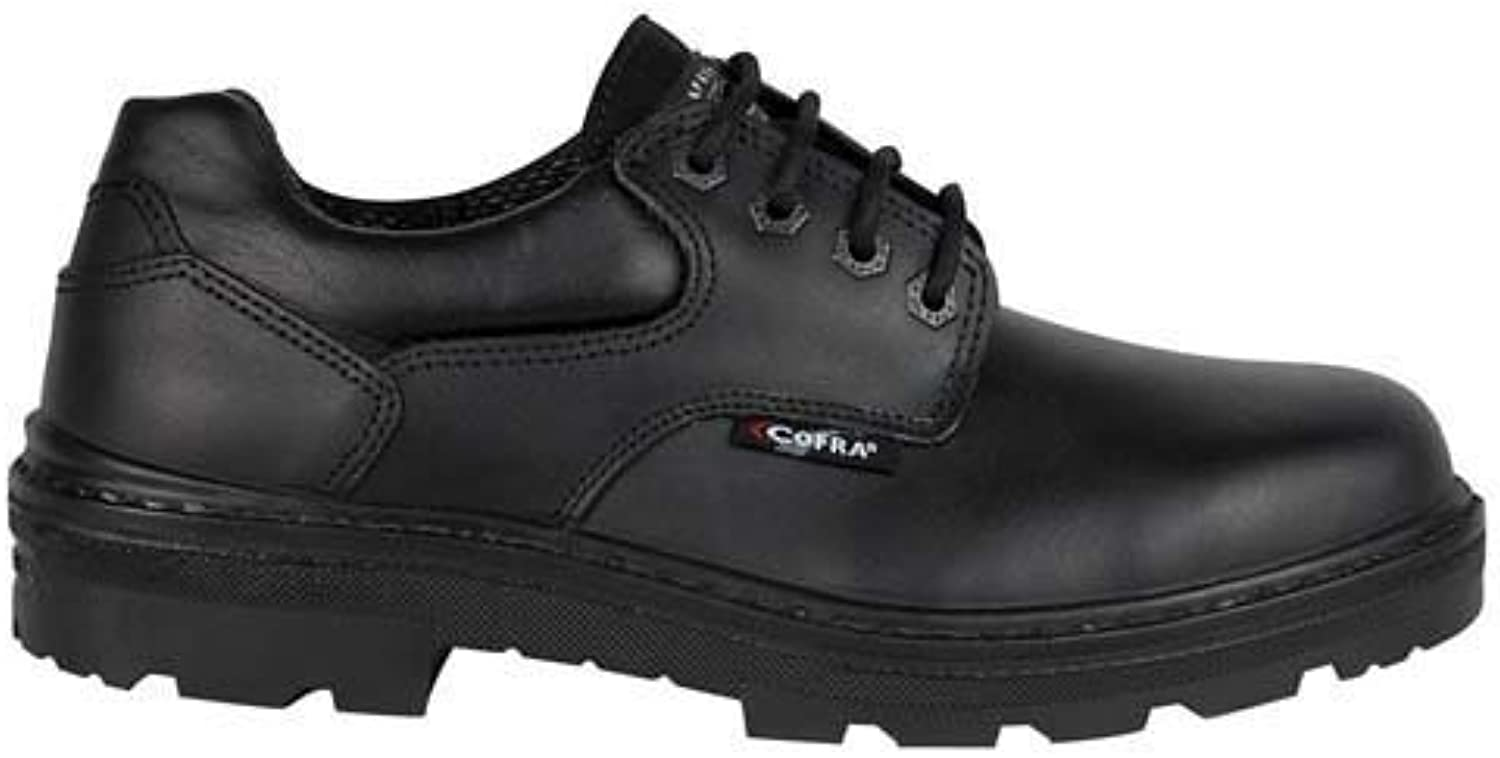 Cofra 25680-000.W39 shoes,  Small BIS , S3 SRC, Size 5.5, Black - EN safety certified