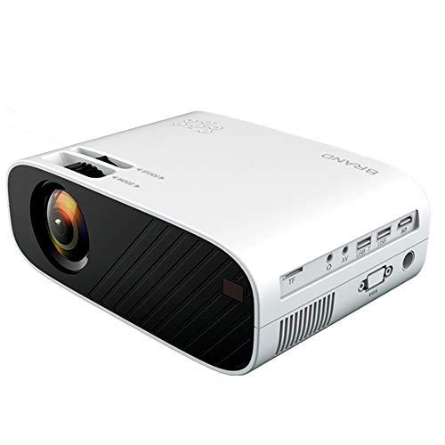 QK Videoprojektor, Tragbarer Mini-Projektor, Native Auflösung 1080P, Overhead-Projektor, Unterstützung Für HDMI/USB/VGA/AV