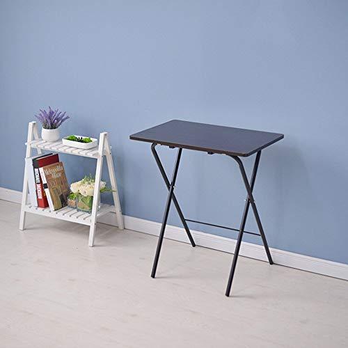 Klaptafel verstelbaar Gratis installatie van eenvoudige klaptafel tafel tafeltje bed 46 * 70 cm draaibaar (kleur: A) A