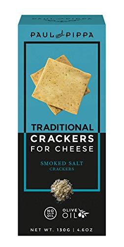Cracker de sal ahumada gourmet para quesos