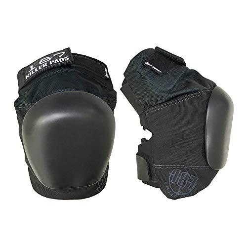 Killer Pads Schutzausrüstung Kneepads Pro Derby, Schwarz, M