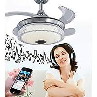 赤いドラゴン 幾何学模様/アイデアジュェリー 天井ファン アンビエントライト 電気メッキ メタル 調整可, WIFIコントロール, Bluetoothコントロール 110-120V / 220-240V RGB LED光源を含む/集積LED/SAA/FCC:110-120V