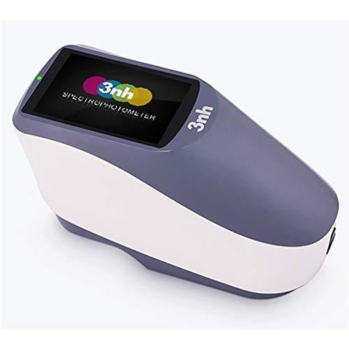 Range Mano YS3010 de medición Calibre 8 mm Económica portátil espectrofotómetro de Alta precisión 400-700nm espectrofotómetro Inteligente