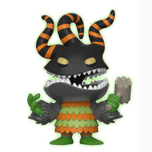 The Nightmare Before Christmas Pop Figure Harlequin Demon Chibi Vinly PVC Decor Collection Model Decorations