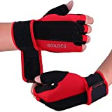 boildeg Guantes Gimnasio Hombre Mujer,Guantes Pesas Gym Guantes Fitness Transpirable...