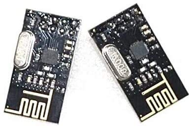 FORETTY DIANLU17 10pcs / Lot Multipoint Communication Control NRF24L01 + 2.4GHz Antenne Wireless Transceiver-Modul für Stabile Leistung.