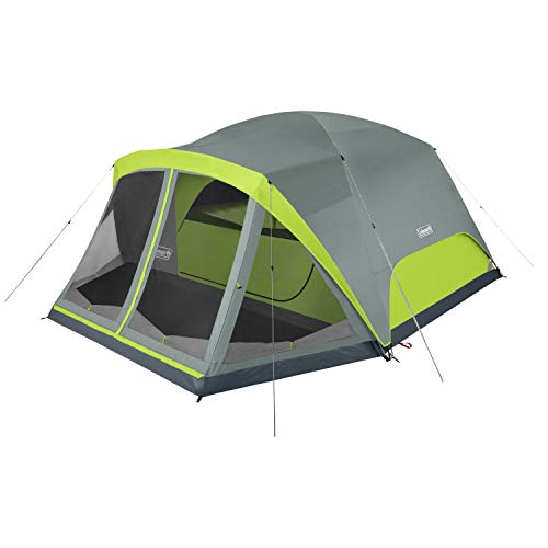 Coleman Camping Tent Skydome 8 Person with Screen Room