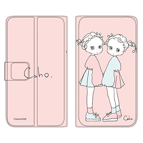 Caho iPhone6s Plus ケース 手帳型 薄型プリント手帳 ふわふわB (ch-022) スマホケース アイフォンシックスエス プラス 手帳 カバー スマホカバー WN-LC125766_LL