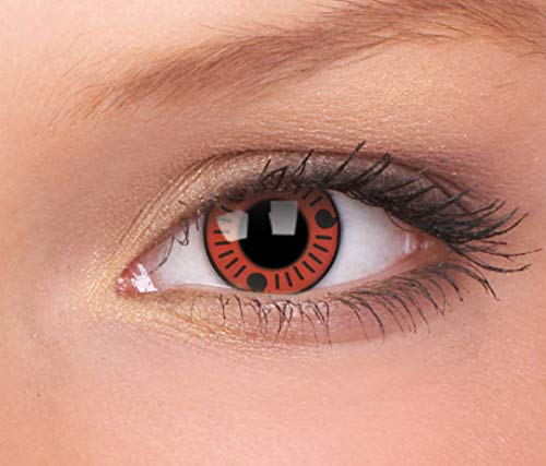 Halloween Kontaktlinse Lustige Linse Sasuke 3 Monate Einweg 14 mm stärke 0.00 stärke 0.00 von ColourVUE