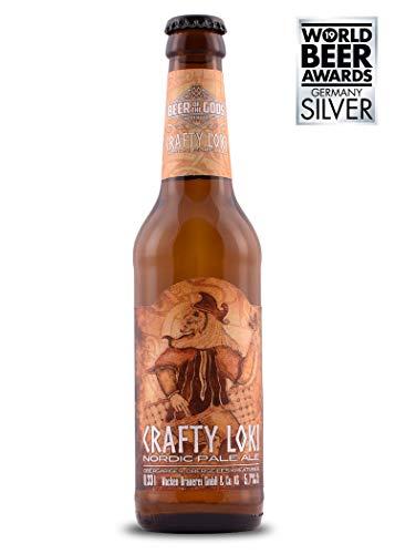 WACKEN BRAUEREI Pale Ale Craft Beer Box 6 x 0,33 l Flasche | CRAFTY LOKI | Viking Craftbeer Set Gift for Men | Wikinger Kraft Bier Geschenk für Männer | Party Festival Heavy Metal - 2