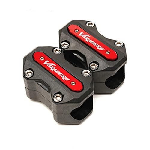 VSKTE Motorrad Motorschutz Bumper Protection Dekorative Block Fit Für Varadero XL 1000 Varadero 1000 125 Varadero (Color : Red)
