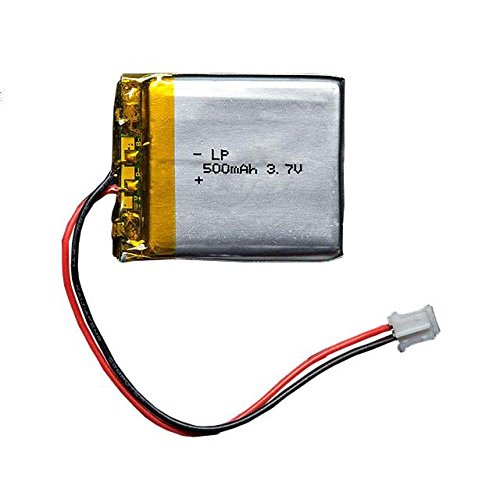 ADAFRUIT INDUSTRIES 1578 Lithium Ion Polymer Battery - 3.7v 500mAh