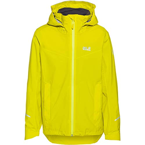 Jack Wolfskin Herren Atlas Tour Regenjacke, Flashing Green, XL