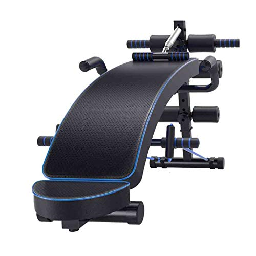 Best Bargain Home Gyms Sit-ups sit-ups Fitness Equipment Home Multi-Function Abdominal Muscles Exercise aids Abdomen Abdomen (Color : Black)