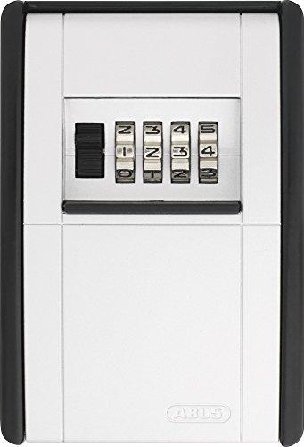 ABUS KeyGarage™ 787 BIG - Schlüsselbox zur Wandmontage - für bis zu 50 Schlüssel oder kleine Wertgegenstände - Schwarz-Silber