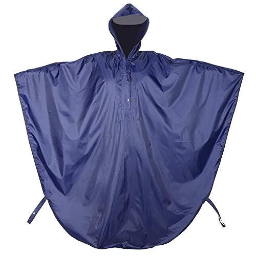 DaMohony Reflecterende Waterdichte Hooded Regenjas Rolstoel Regenhoes Regenjas Kleding voor Ouderen Gehandicapten