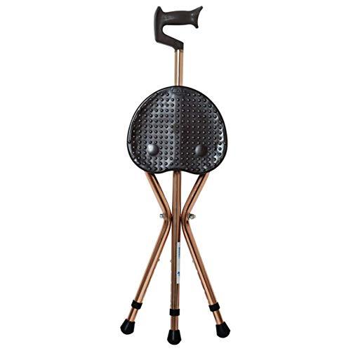 441lb bastón Grueso Asiento para Caminar aleación de Aluminio Taburete de muleta Mesa de Masaje Unisex Alto bastón para Caminar Altamente Ajustable para Personas Mayores FAYGZ