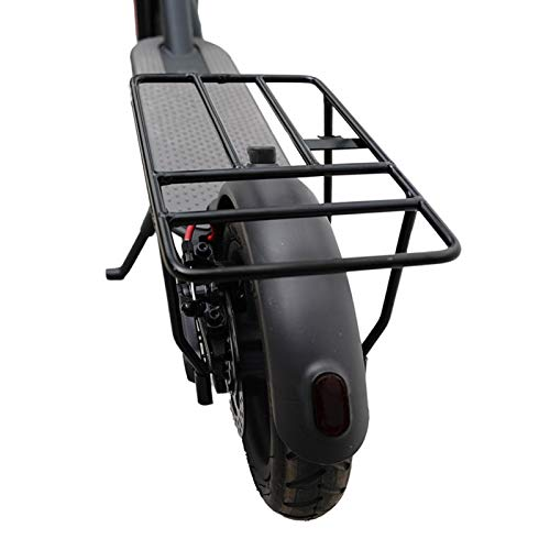 Amusingtao Soporte de carga para bicicleta trasero de bicicletas Portaequipajes, Iron Skate Bike Bike Bike Rack trasero para Xiaomi M365 1s Pro